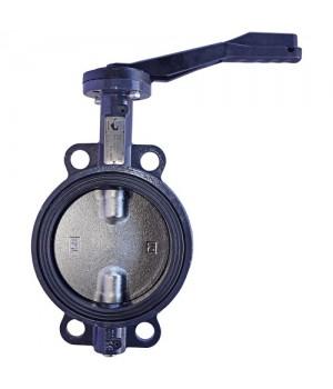 Затвор дисковый поворотный Ду65 Ру16 межфланцевый Schloss