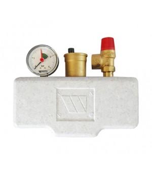 Группа безопасности Watts KSG 30/ISO2 3 бар (до 50 кВт) в теплоизоляции