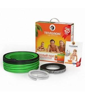 ТЕПЛОЛЮКС STANDART Электрический одножильный греющий кабель 18ТЛОЭ2-38-700