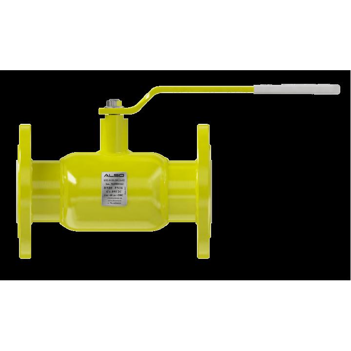 Кран шаровый ALSO GAS КШФ Ду 65 Ру 1,6 МПа ст. 20