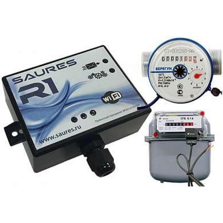 Прибор SAURES R1 Система автоматического сбора и учета ресурсов
