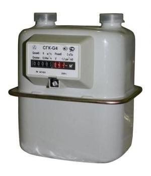 Счетчик газа СГК G 2,5 (лев)