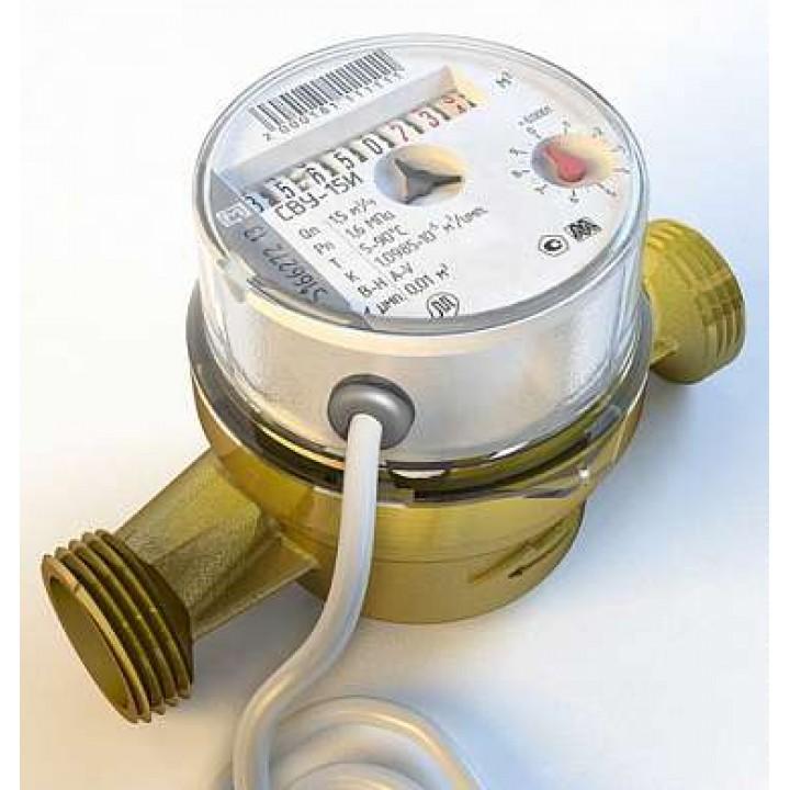 Водосчётчики крыльчатые с антимагнитной защитой СВУ-15И (НЕВОД)
