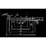 Заглушка фланцевая АТК 24.200.02.-90 Ст 20 1-32-25