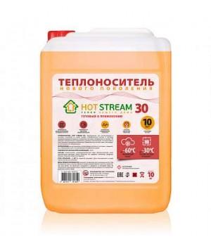 Теплоноситель HOT STREAM -30 10 кг основа этиленгликоль