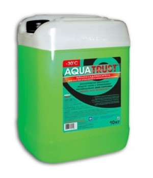 Незамерзающий теплоноситель Антифриз Aquatrust -30?C 20кг