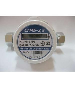 Счетчик газа СГМБ 2.5