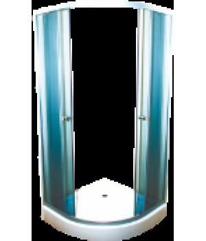 Душевые уголки Душевой уголок Fiinn F207-T 80х80х195