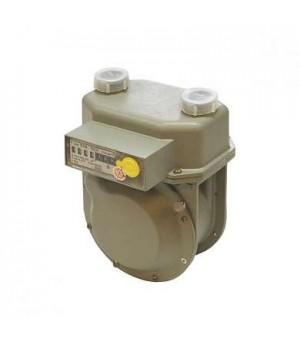 Счетчик газа СГД-1,6-3/4 ГЛИУ левый (с АМП) (переходник с резьбой)