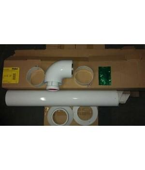 303807 Vaillant Комплект для горизонтального прохода дымохода, 800мм DN 60/100 белый